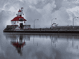 A Cloudy Day in Canal Park