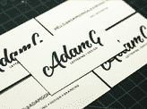 Adam G Business Cards