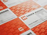 Chuck Huggins Business Cards