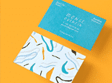 Playful And Bright Business Card