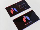 Black & Modern Business Card