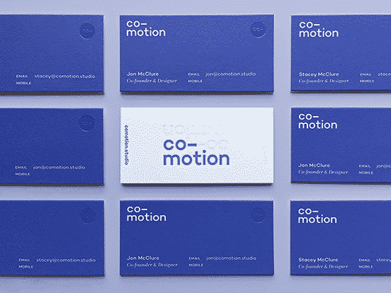 Co Motion Business Cards