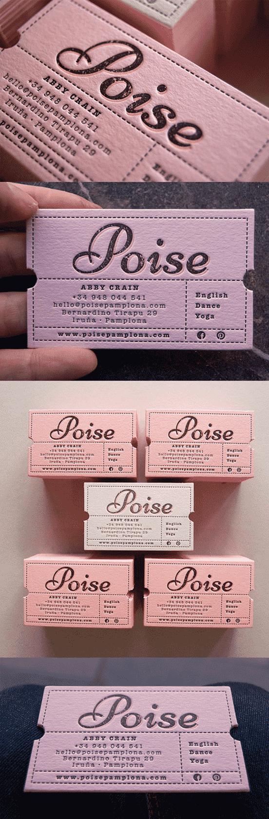 Custom Die Business Card