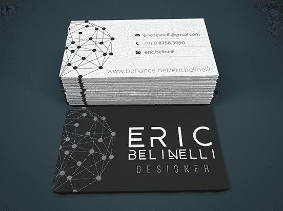 Eric Belinelli business card