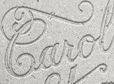 Letterpressed Type