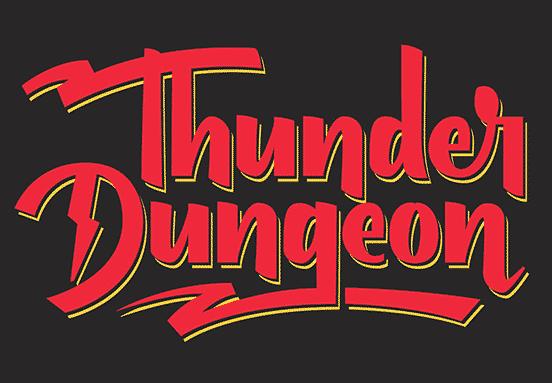 Thunder Dungeon Wordmark