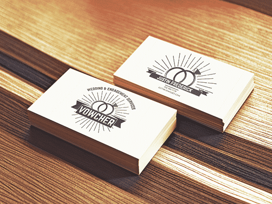 Vowcher Business Cards