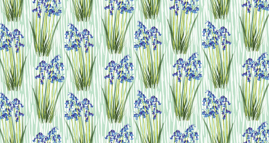 Bluebells Pattern