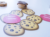 Cookie Shaped Business Card