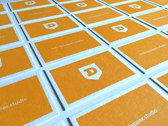 Dapper Studio Business Cards
