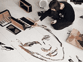 Giant Portrait Made