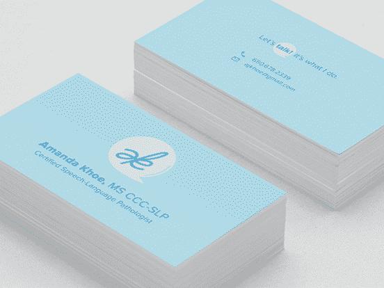 SLP Business Card