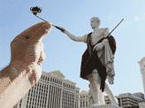 Caesar Taking A Selfie