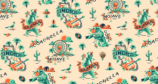 Coachella Pattern