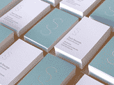 Effective Pastel Minimalist Business Card