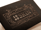 Gold Letterpress Business Card