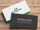 Manduka's Business Cards