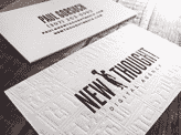 New Thought Business Cards