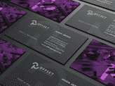 Offset Business Cards