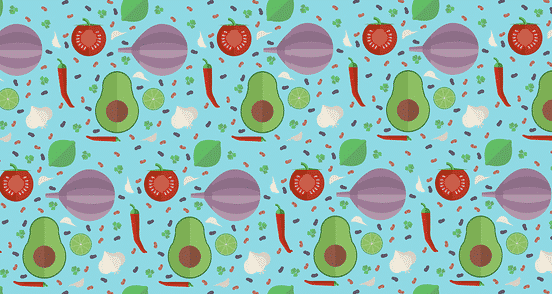 Tex-Mex Veggies Pattern