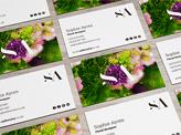 Sophie Ayres Florestry Business Cards