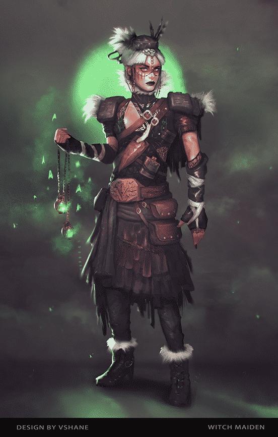 Witch Maiden