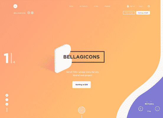 Bellagicons – Huge Icons Set