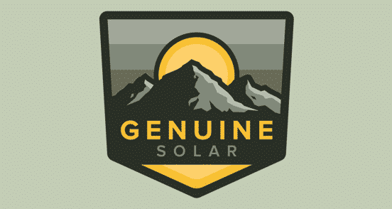 Genuine Solar Patch
