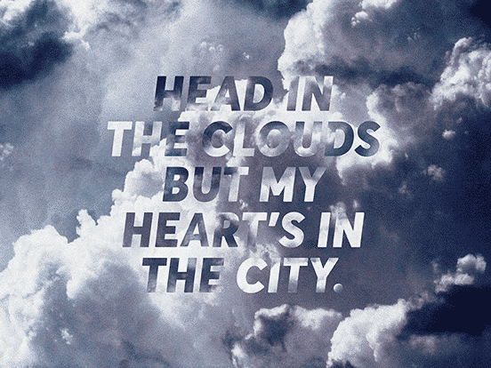 Head In The Clouds Type