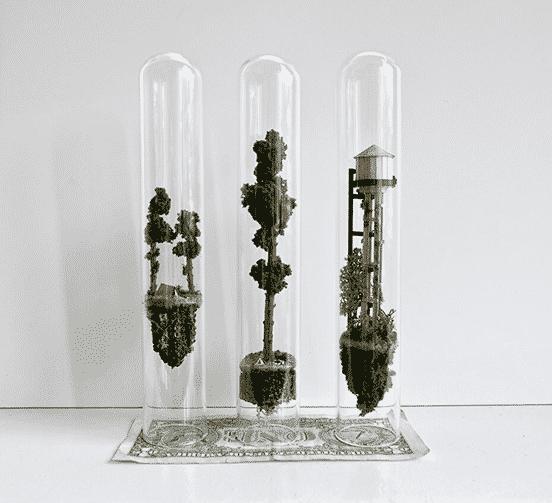 Miniature Dwellings Suspended