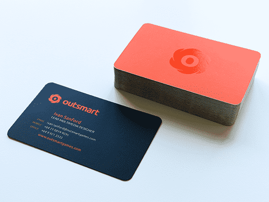 Outsmart Business Card