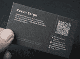 PH. D. Business Card