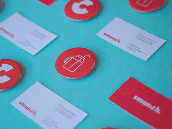 Smunch Branding Business Cards