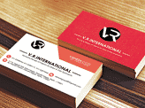 V.R.International Business Card