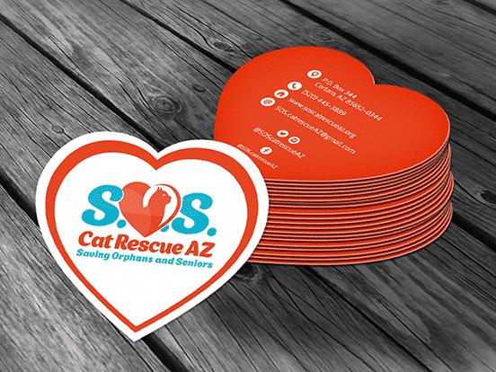Cat SOS Business Card