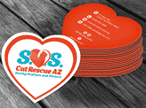 Cat SOS Business Card