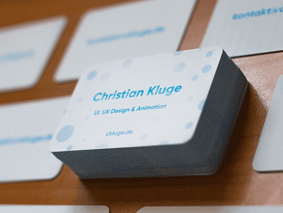 Christian Kluge Business Cards