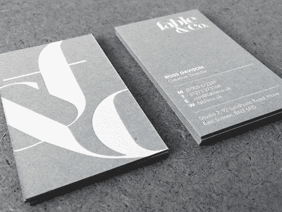 Fable&Co Business Cards