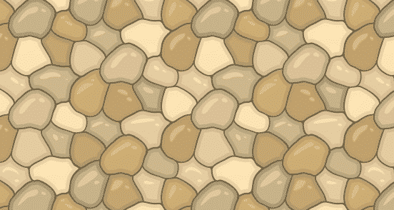 Free Stone Wall Lines Seamless Vector Pattern