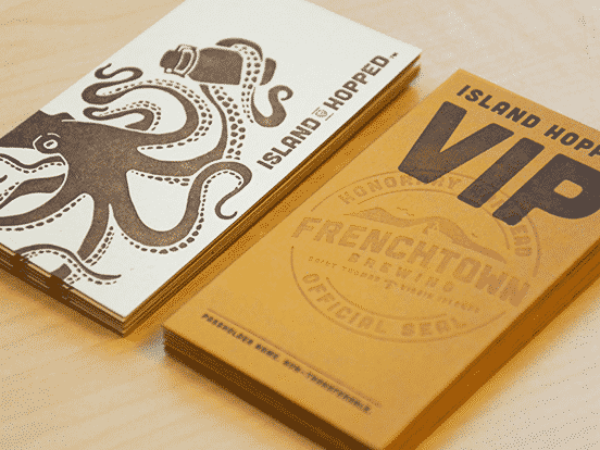 Frenchtown Brewing VIP Cards