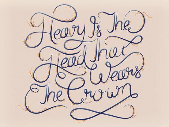 Heavy Is The Head Type