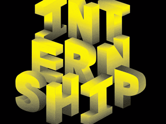 Internship Typography