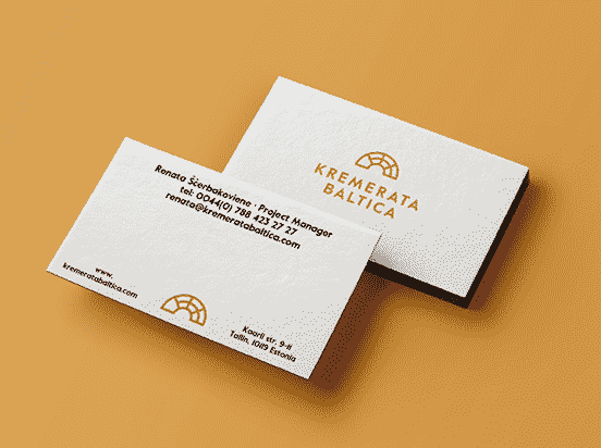 Kremerata Business Cards