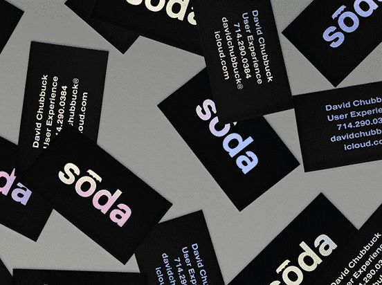 Soda Business Card