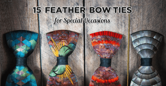 facebook-feather-bow-tie