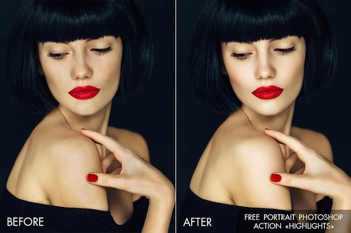 Free Photoshop Actions for Creative Photo Retouching | The Design
