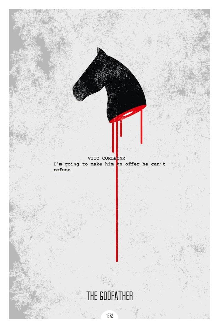 minimal movie posters take essential