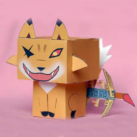 Stoke Your Creative Side with Free Paper Toys | The Design