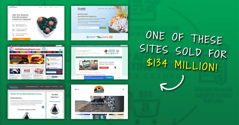 23 Real Affiliate Marketing Websites (+ Earnings)