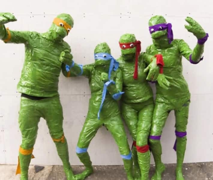 inja Turtles Discover Green Tape